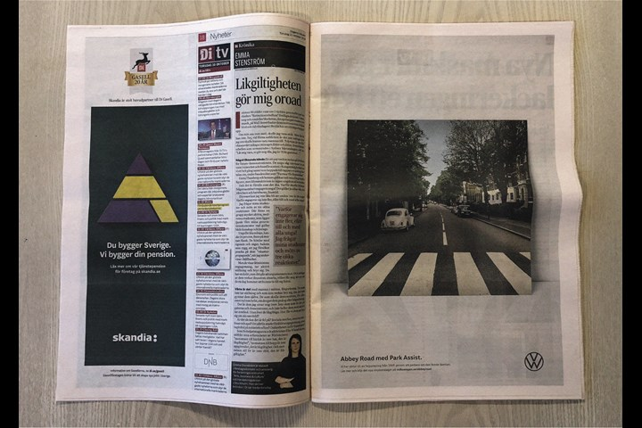 Abbey Road with Park Assist - Automotive - Volkswagen