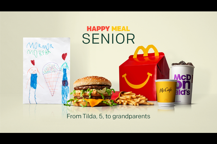 Happy Meal Senior - McDelivery, Fast Food - McDonald's