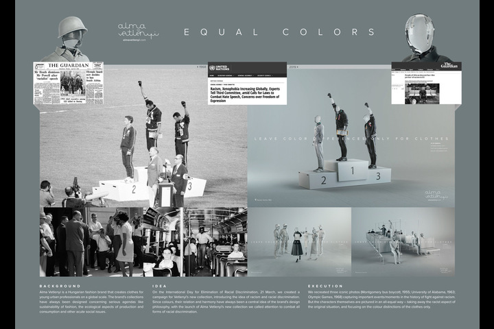 Equal Colors - Alma Vetlenyi Fashion - Alma Vetlenyi Fashion