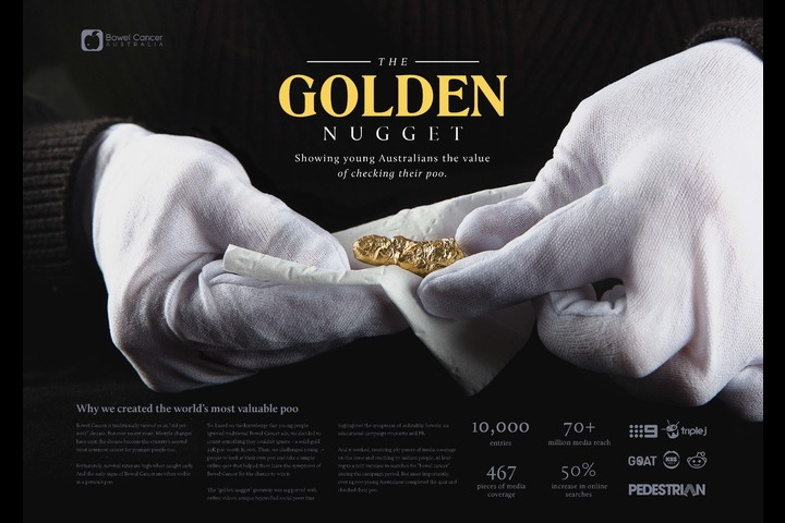 The Golden Nugget - Corporate - Bowel Cancer Australia