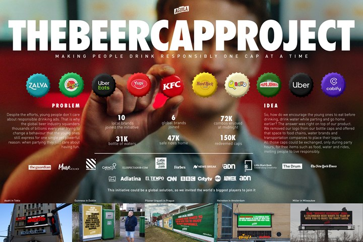 The Beer Cap Project - Aguila Beer - Ab Inbev