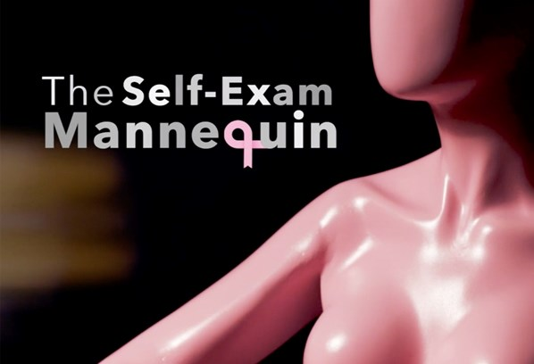 The Self-Exam Mannequin - Pink October Awareness - Tietê Plaza Shopping