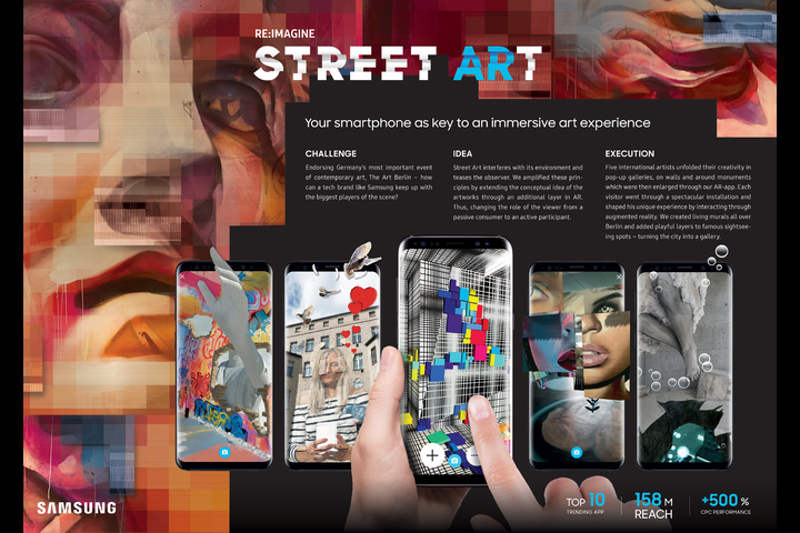 Re:imagine Street ARt - Samsung Galaxy - Samsung
