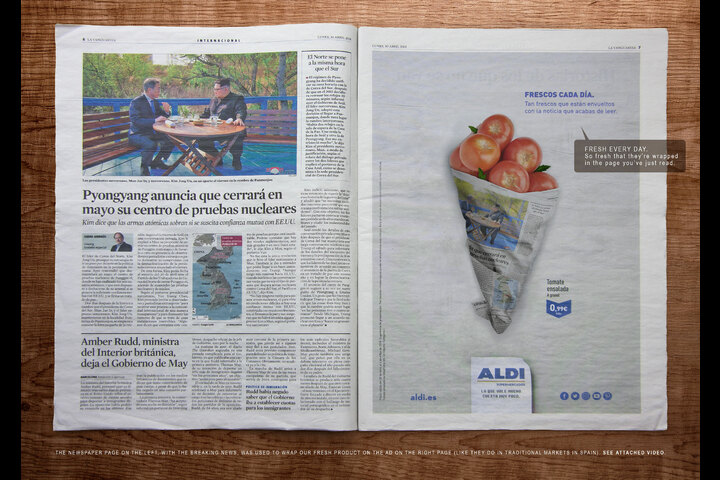 Fresh Prints: Tomatoes - - Aldi