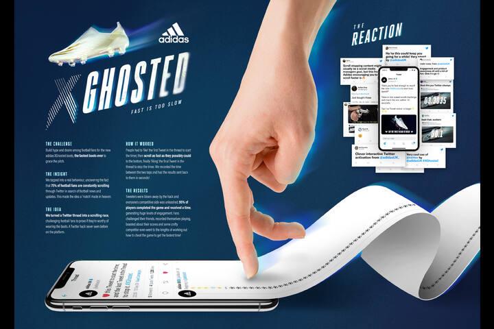 #GhostSpeedChallenge - adidas - Football Boots