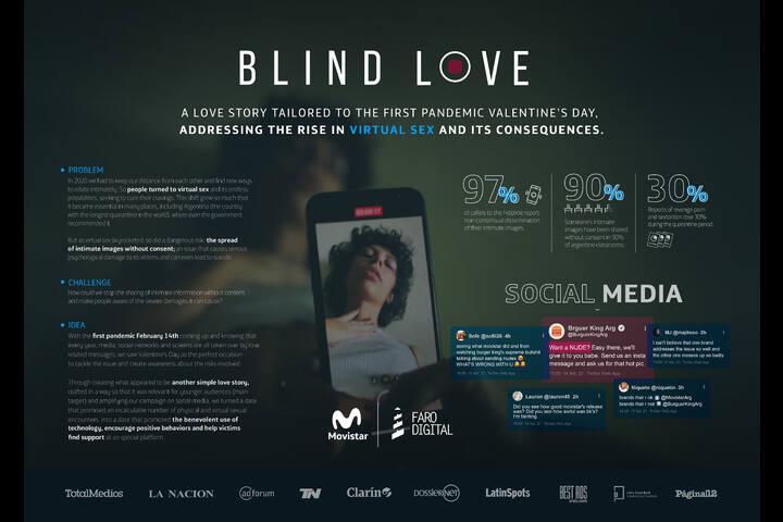Blind Love - Saint Valentine´s day Campaign - Movistar