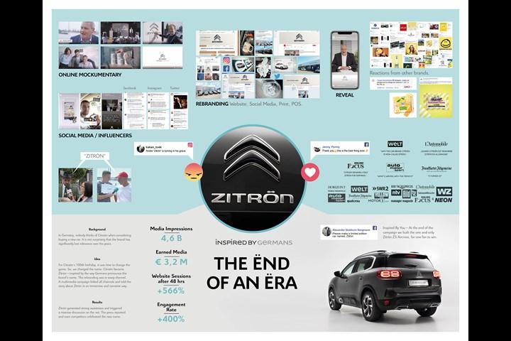 Zitrön – The Ënd of an Ëra - CITROËN - CITROËN
