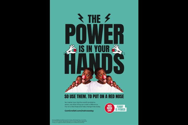 Funny is Power - Charity - Comic Relief