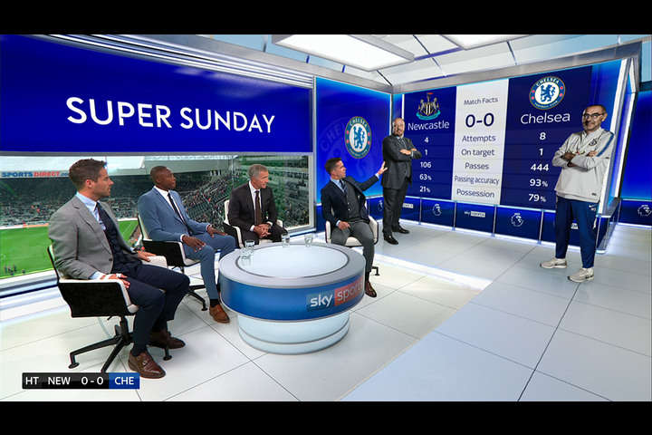 Premier League OB Studio - Sky Sports - Premier League