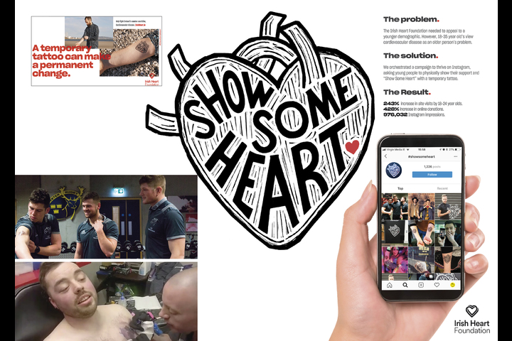 Show Some Heart - Irish Heart Foundation - Charity