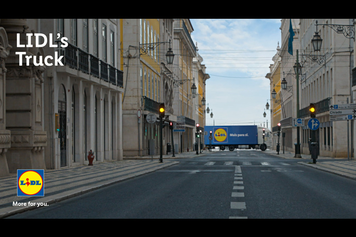 LIDL'S Truck - Supermarkets - LIDL