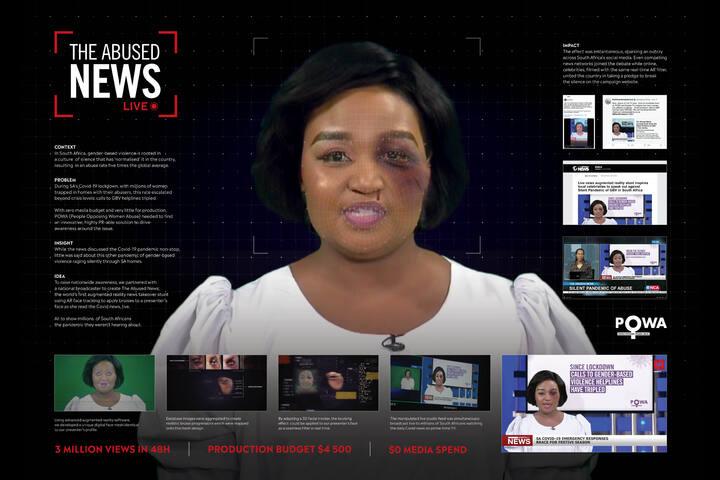The Abused News - Brand - POWA (People Opposing Women Abuse)
