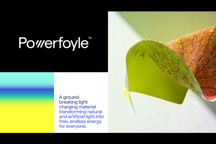 Powerfoyle - Solar cell material - Powerfoyle