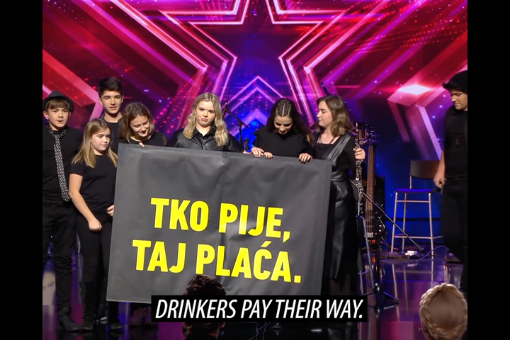 Drinkers Pay Their Way - Croatian Institute of Public Health - public awareness