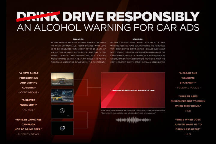 Drive Responsibly - Jupiler - Beer