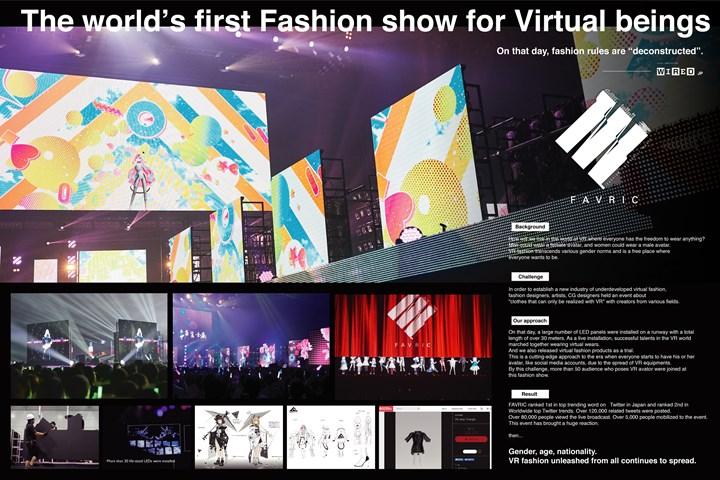 Fashion Show for Virtual Being - GirlsAward inc. - GirlsAward inc.