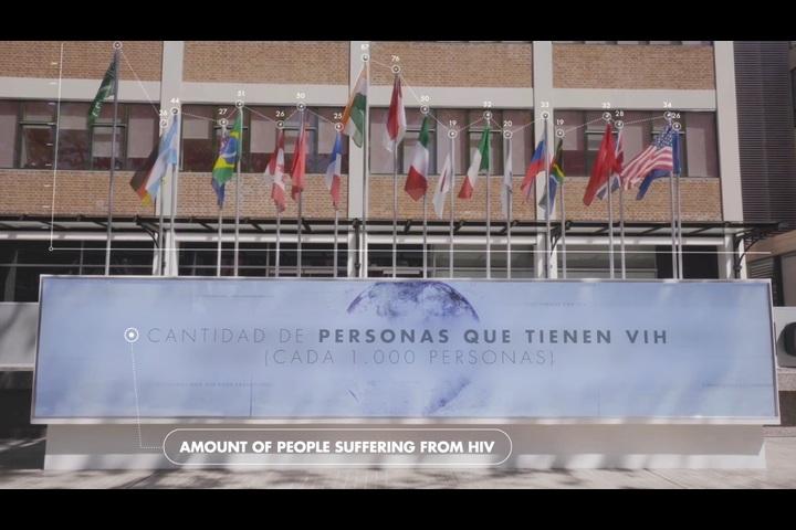 HIV on the Agenda - International HIV day Campaign - Fundación Huésped