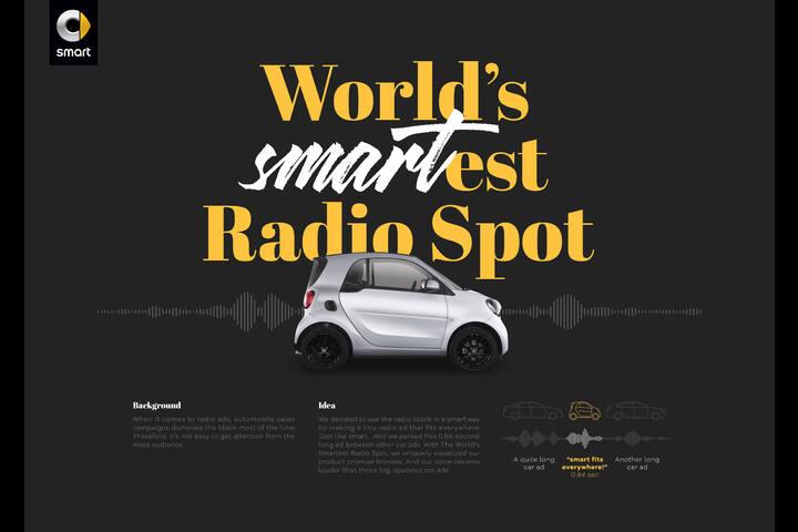 World's Smartest Radio Spot - smart - Mercedes-Benz