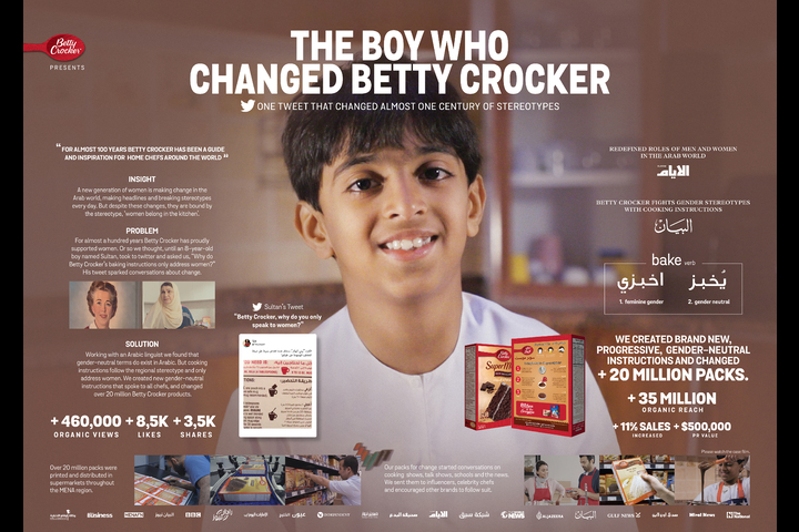 The boy who changed Betty Crocker - General Mills / Betty Crocker - Betty Crocker