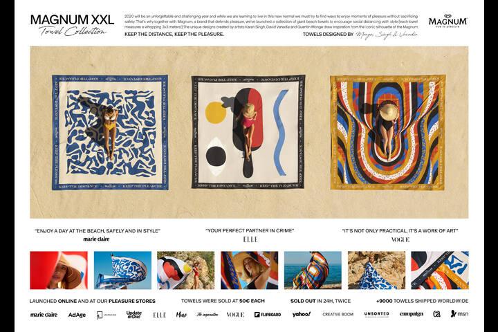 Magnum XXL Towel Collection - Ice Cream - Magnum