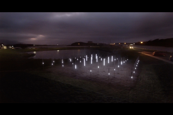 Hy Brasil II - Immersive Light Installation - Westport Arts Festival