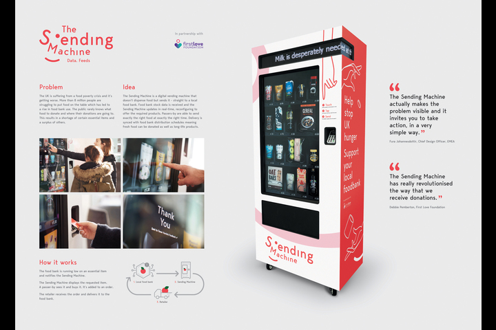 The Sending Machine - The Sending Machine - Publicis Sapient