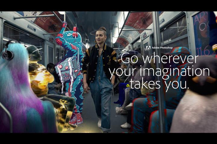 Adobe Fantastic Voyage - Adobe Photoshop - Adobe
