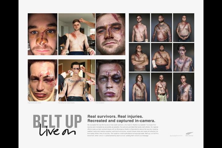 Belted Survivors - - NZ Transport Agency