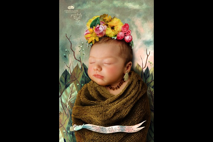 Your baby is a work of art - Newborn Photography - Os Bebês da Lhais - Newborn Photography