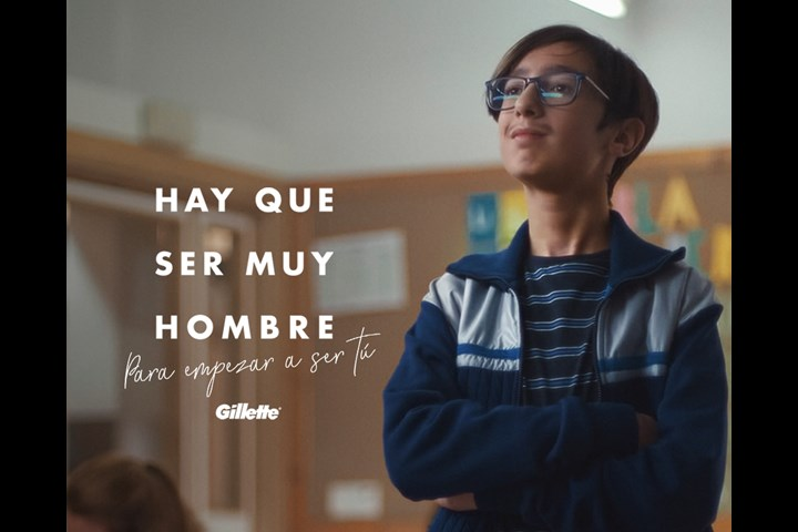 Hay que ser muy hombre / It takes a real man - Gillette - Gillette