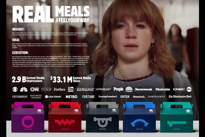 Real Meals - - Burger King