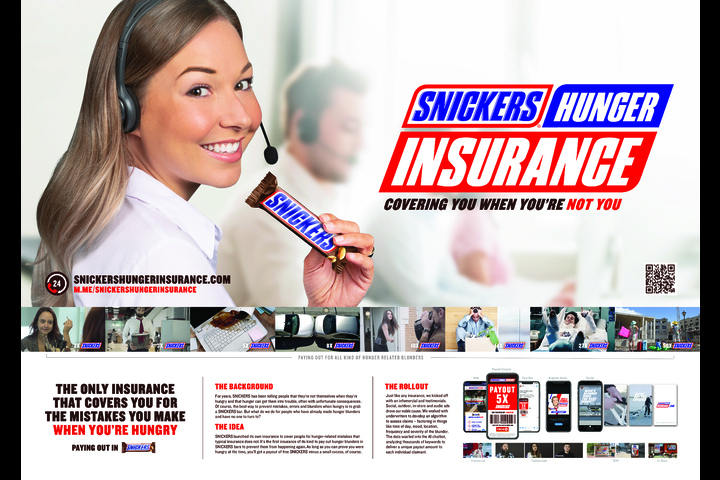 Hunger Insurance - Snickers - Chocolate