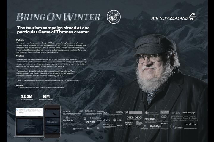 Bring On Winter - Air New Zealand - Air New Zealand