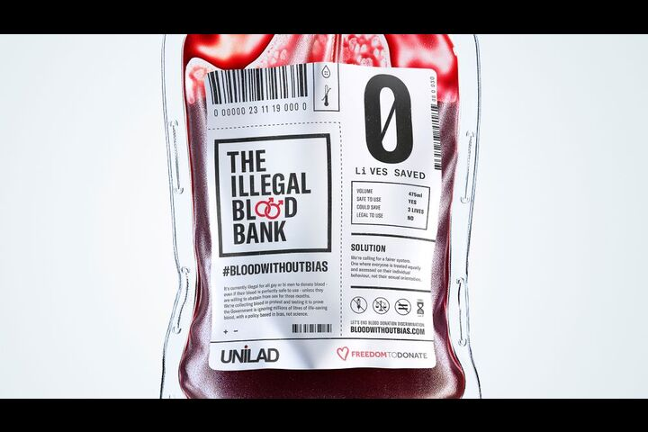 The Illegal Blood Bank - UNILAD - LADbible Group