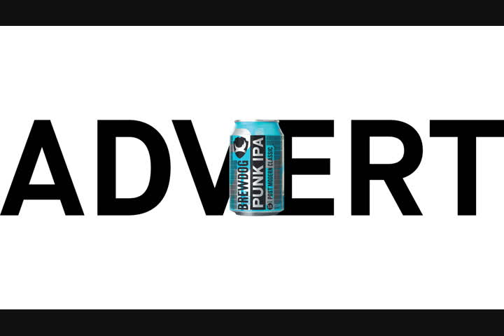 Advert - Punk IPA - Brewdog