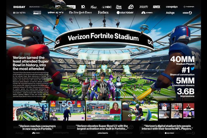 Fortnite Stadium - Verizon 5G - Verizon