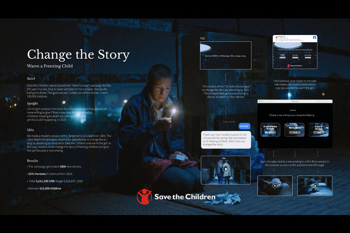Change The Story - Charity - Save The Children
