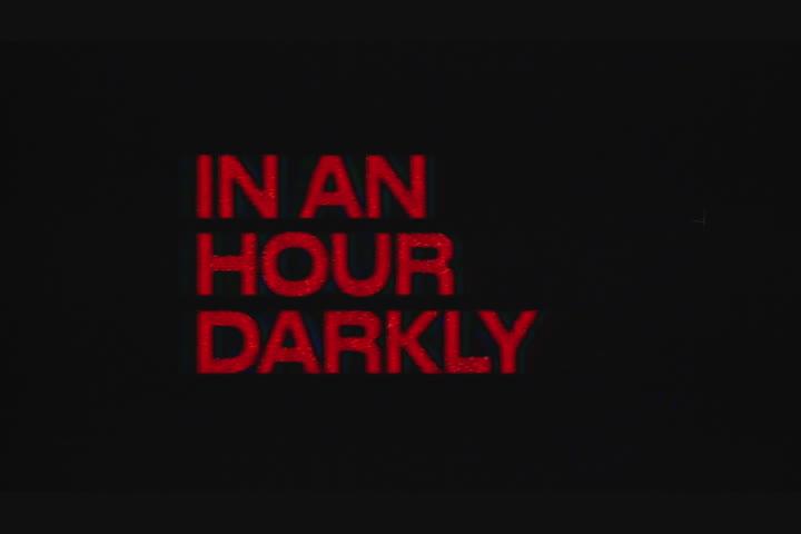 In An Hour Darkly - Jordan Hemingway -
