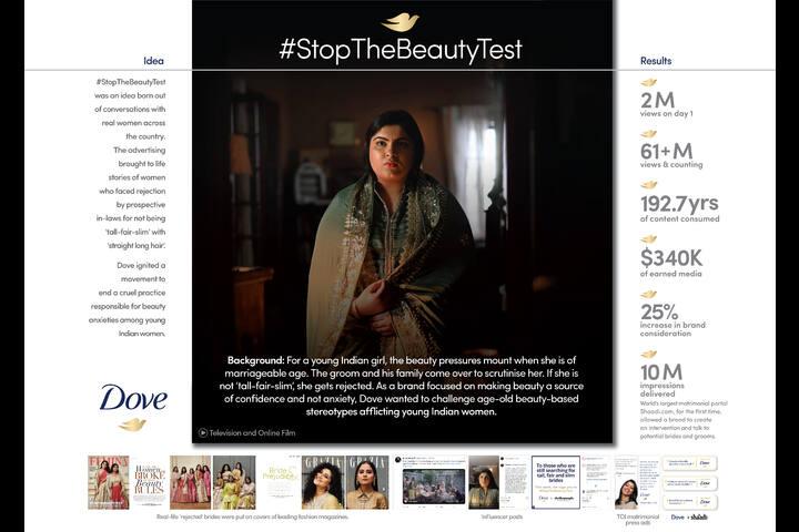Dove #StopTheBeautyTest - Hindustan Unilever Ltd - Dove