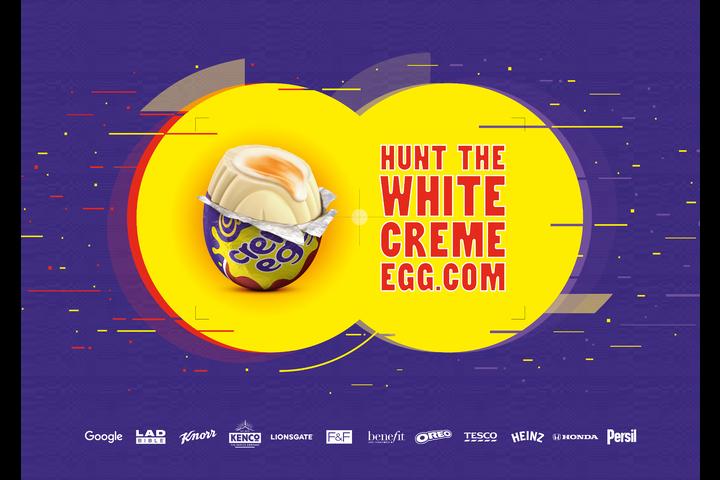 Hunt the White Creme Egg - Mondelez - Cadbury Creme Egg