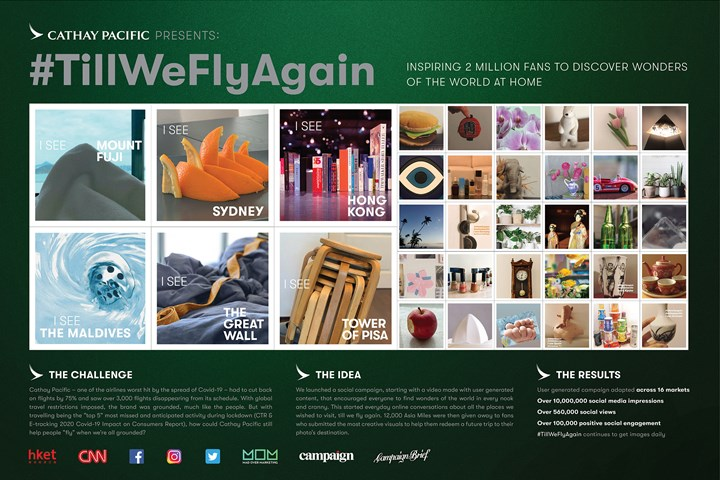 Till We Fly Again - Airline Branding - Cathay Pacific