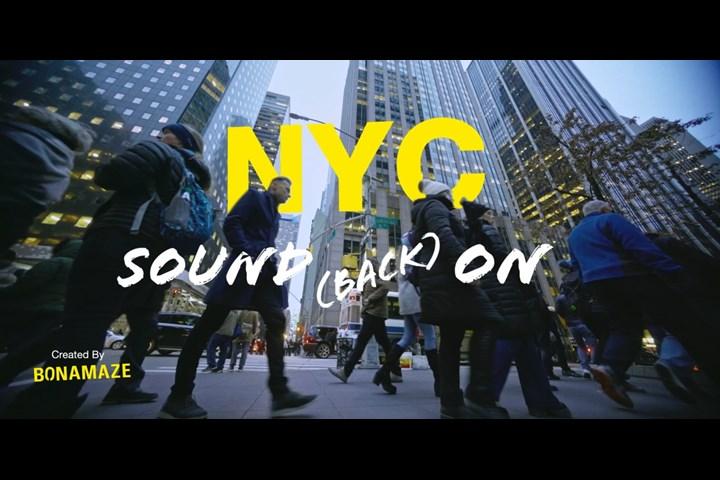 NYC! Sound (Back) On - Bonamaze ltd - -