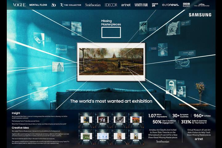 Missing Masterpieces - Samsung Frame TV - Samsung
