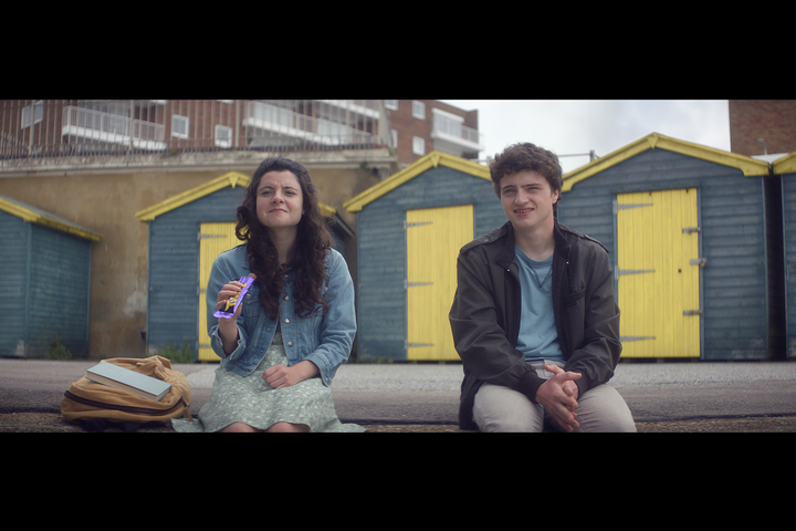 Beach Huts - Cadbury - Twirl