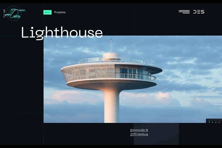 3D Portfolio Website - WebGL Experience - Website - DES
