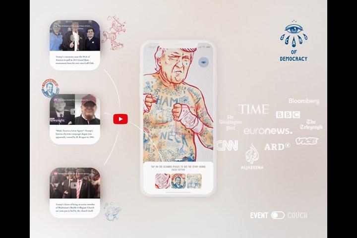 Scars of Democracy - Scars Of Democracy AR - App - STROKE ART FAIR