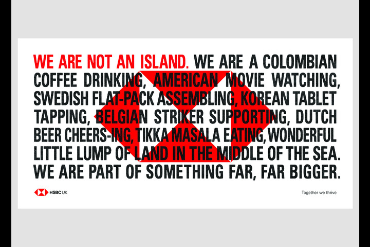 We Are Not An Island - HSBC UK - HSBC UK