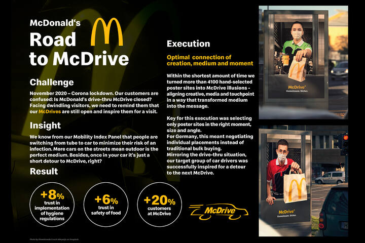 Road to McDrive - McDonald's - McDrive