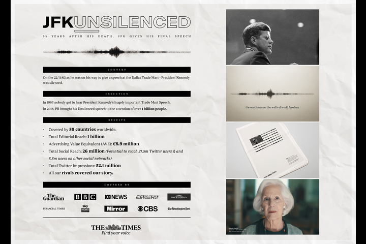 JFKUnsilenced - - The Times/ News UK & Ireland