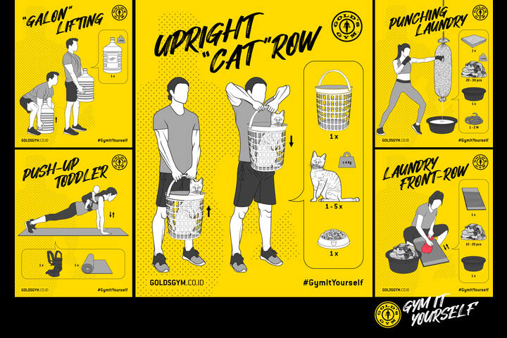 Gym It Yourself - Fitness - Gold's Gym Indonesia
